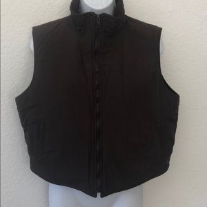 3/$20 SALE VF Heavy Duty Fleece Lined Vest Brown L